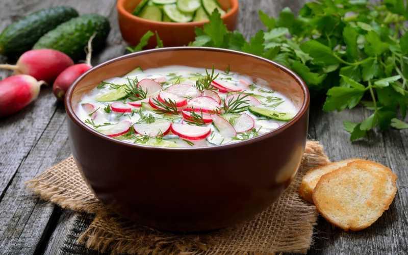 Окрошка – холодный летний суп