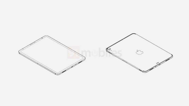 Появились чертежи нового 10,8-дюймового iPad