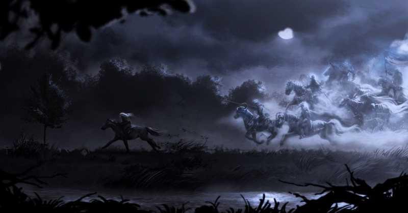 Дикая охота в мифах и легендах