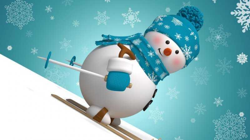История происхождения снеговика