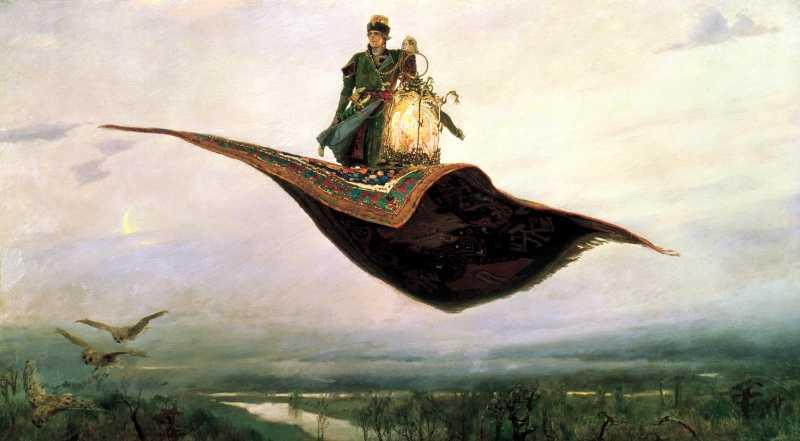 Какие волшебные предметы из русских народных сказок уже есть в нашем мире