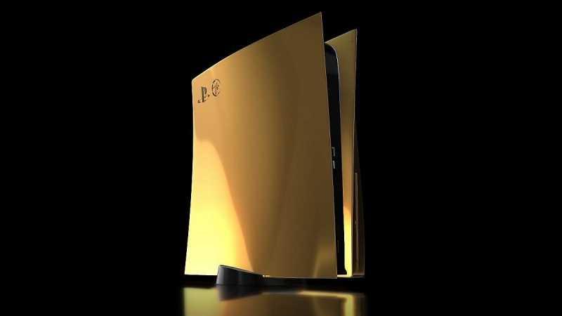 Роскошь дня: дорогущая PlayStation 5 из премиальных материалов