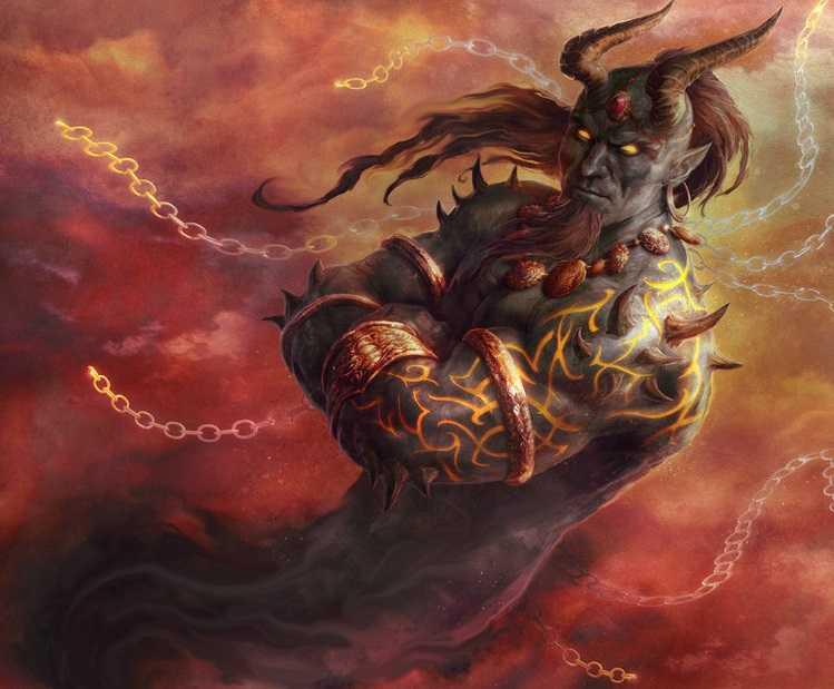 Джинны в восточной мифологии