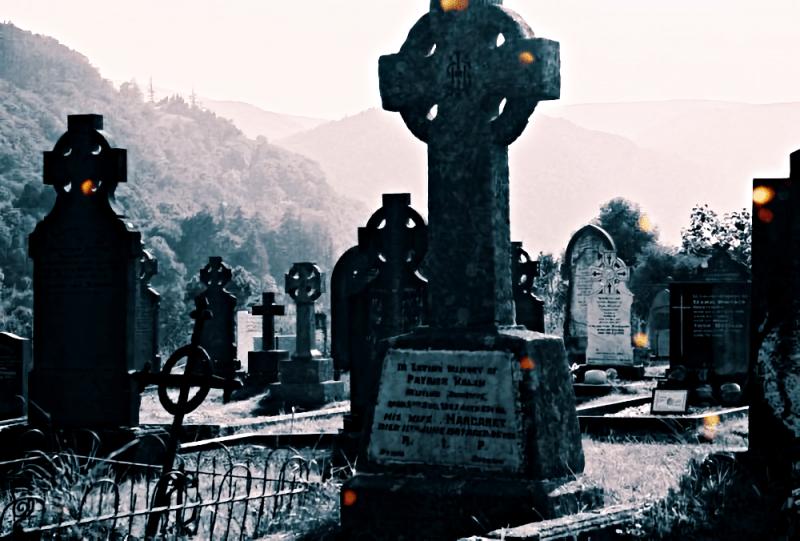Черт в могиле
