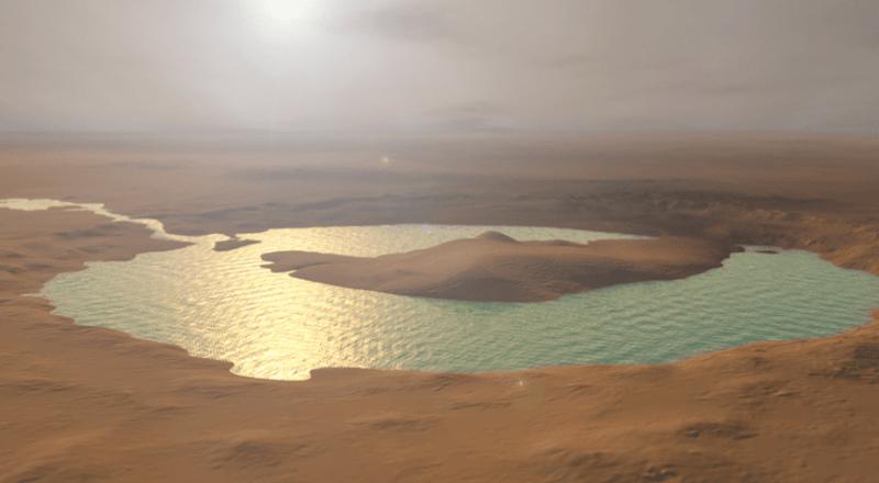 На Марсе нашли целую систему соленых озер