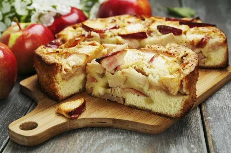 Вкуснейшая шарлотка с яблоками