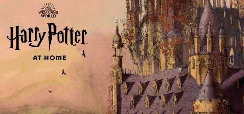 Для детей запустили онлайн-платформу Harry Potter at Home