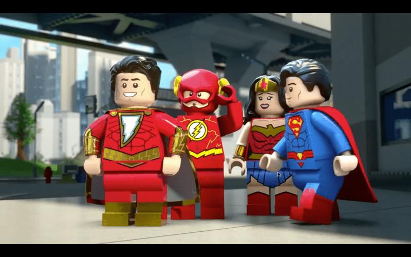 Трейлер LEGO мультфильма «Шазам! Магия и Монстры»