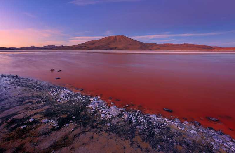 Красная лагуна – озеро Дьявола?