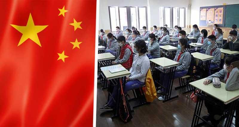В Китае школьники вышли с карантина, но к такому будущему были не готовы. Их новую форму не пожелаешь и врагу