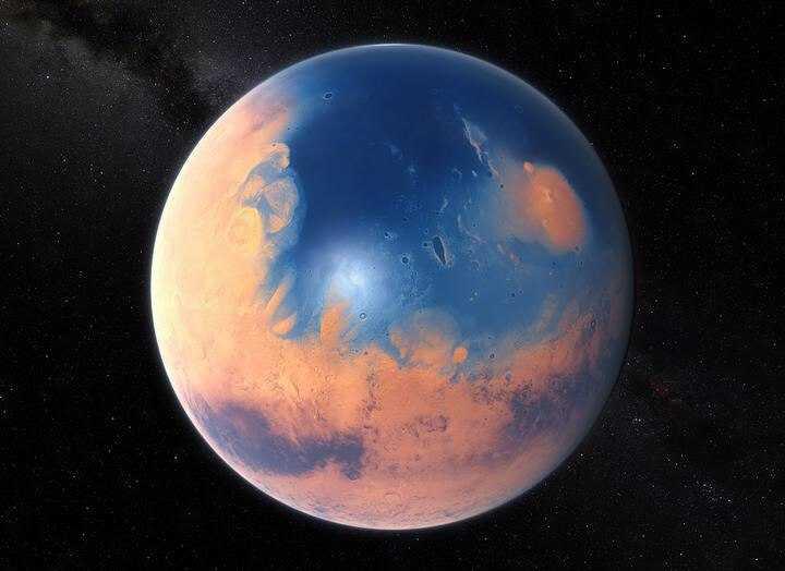 Четыре миллиарда лет назад на Марсе была жизнь