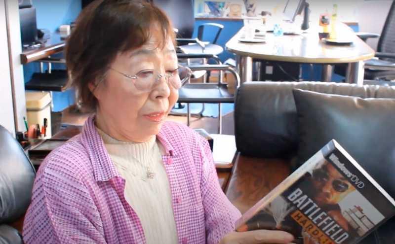 Самым пожилым геймером в мире стала 90-летняя женщина из Японии