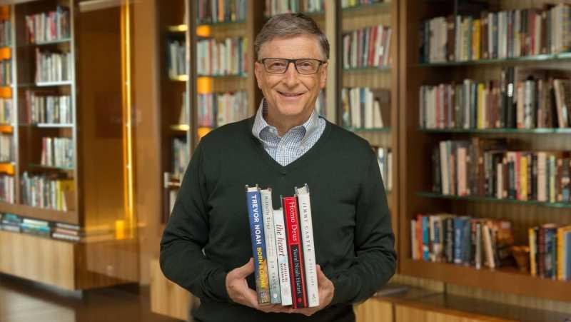 Билл Гейтс порекомендовал книги на лето