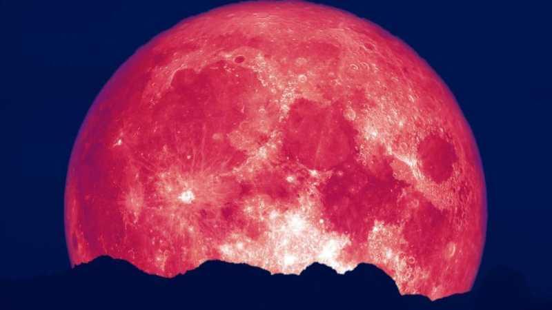 Пятого июня взойдет «клубничная луна»: что нельзя делать в это время