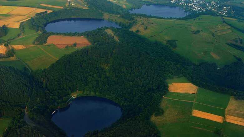 В Германии просыпается вулкан, спавший 13 тысяч лет