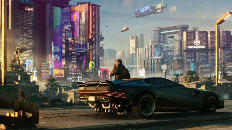 Для Cyberpunk 2077 вышел мод, который улучшает управление транспортными средствами