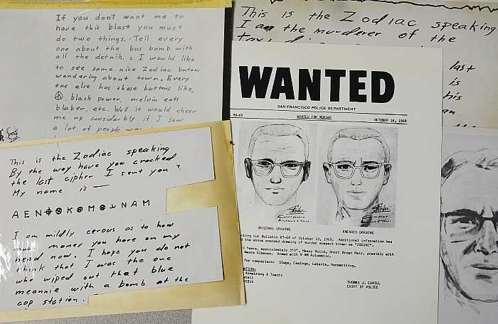 В США разгадали шифр серийного убийцы Зодиака