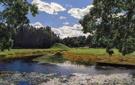 Я иду речной долиной…