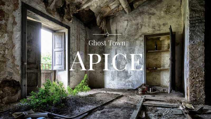 Апиче Веккья – итальянский город-призрак
