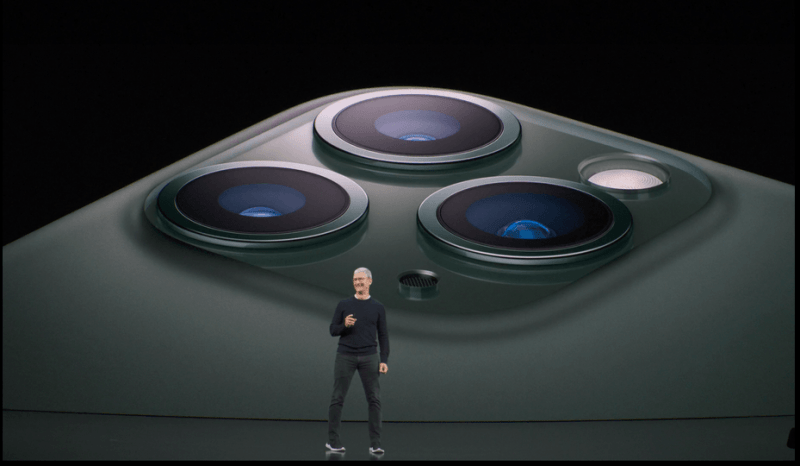 Apple представила iPhone 11 Pro и 11 Pro Max с тройной камерой