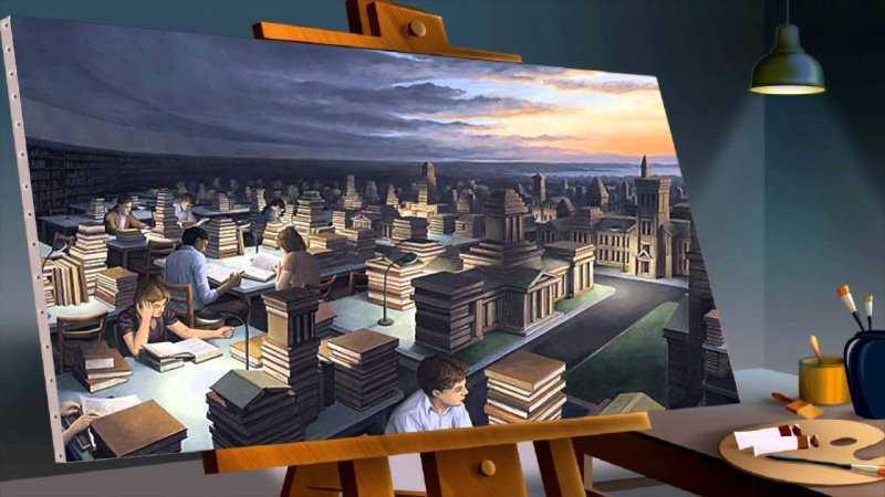 Магический реализм картин Роберта Гонсалвеса