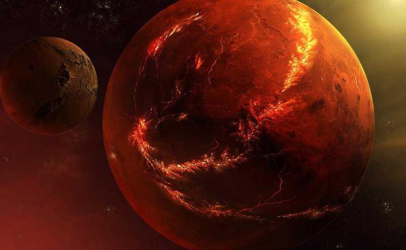 ESA получило новое удивительное изображение Марса