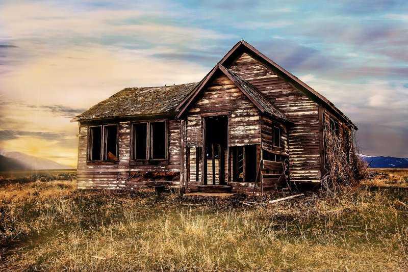 Призраки старого дома