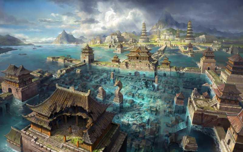Мифические города, окутанные легендами и преданиями