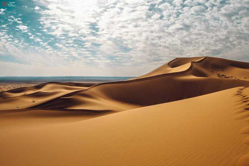 Опасная зона – зыбучие пески