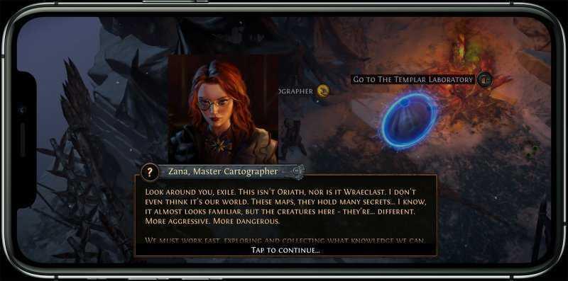 Path of Exile Mobile платить за победу не нужно