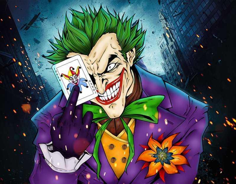 Джокер – книжный герой