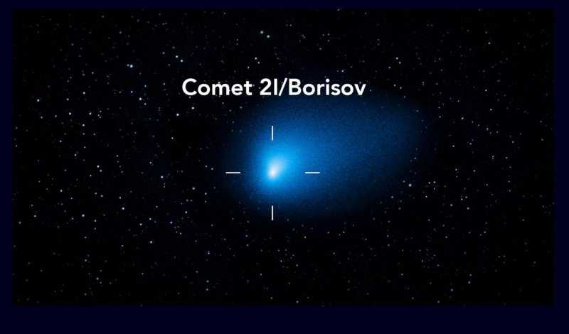 Комета Борисова доступна для наблюдения