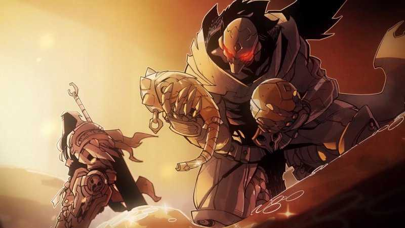 Darksiders Genesis шли два брата-акробата
