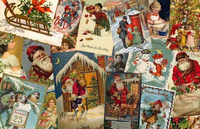 10 малоизвестных фактов из истории рождественских открыток