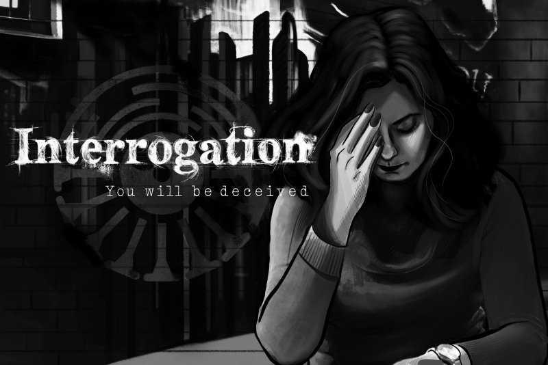 Interrogation: You will be deceived оригинальный текстовый квест