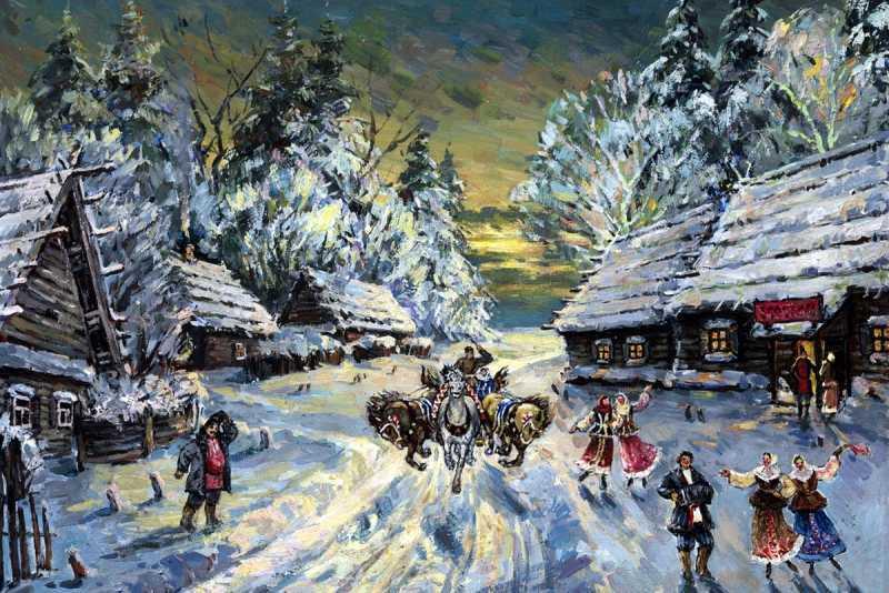 Святки на Руси: празднование, гадания и обряды