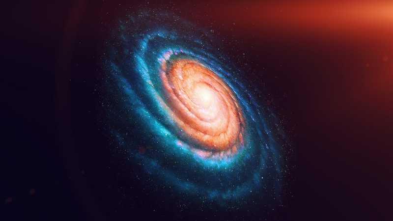 NASA сфотографировало сверхгигантскую «голодающую» галактику