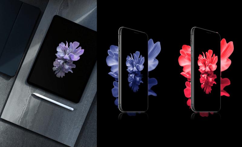 Подборка обоев от Galaxy Z Flip