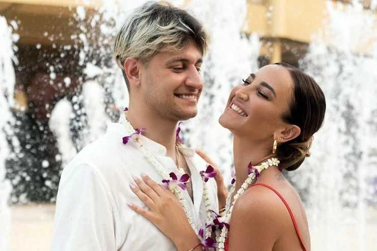 Ольга Бузова сыграла свадьбу на Мальдивах