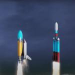 Если бы ракеты были прозрачными: видео