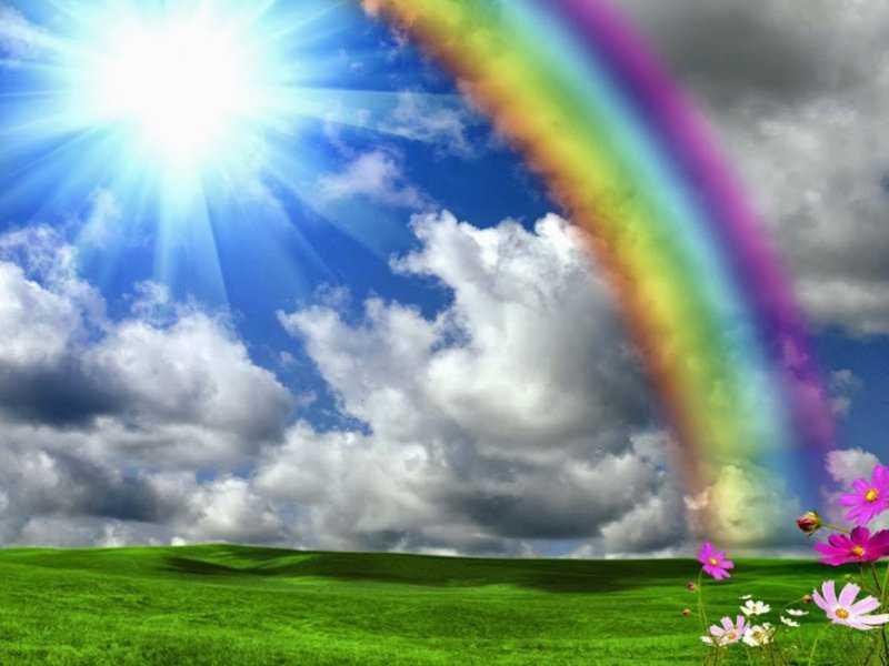 О происхождении слова «радуга»