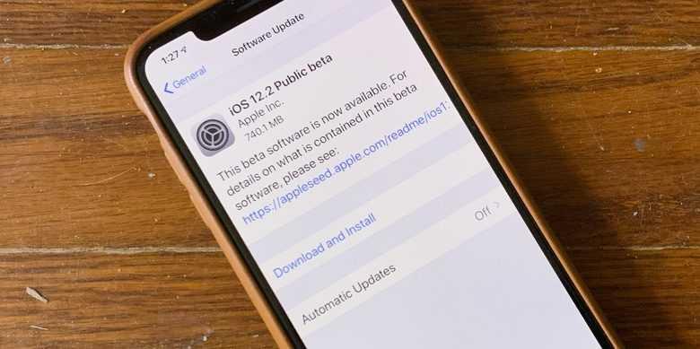 В iOS 12.2 теперь показывается дата окончания гарантии