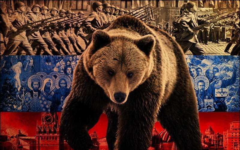 Как медведь стал одним из символов России?