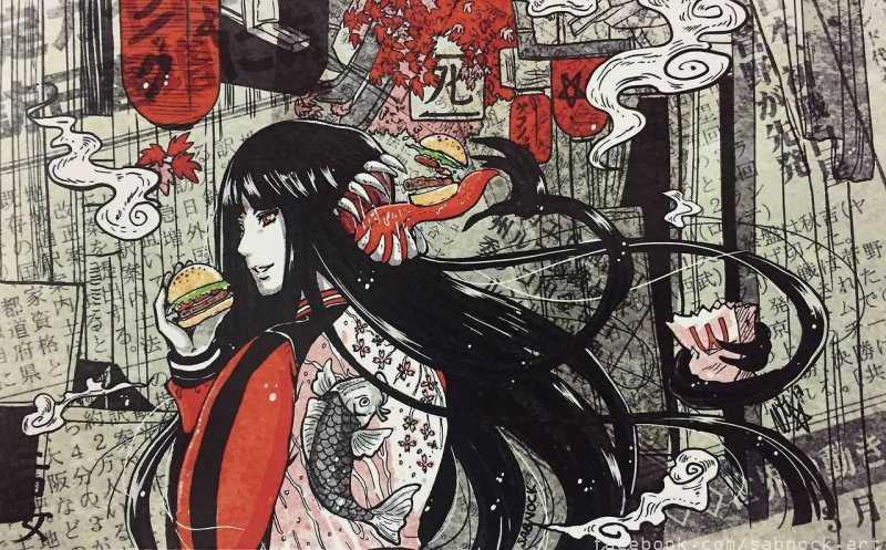 10 самых жутких легенд Японии