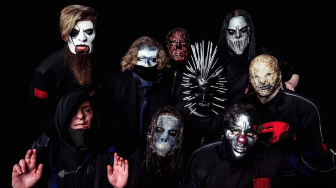 Новые маски и песня от Slipknot