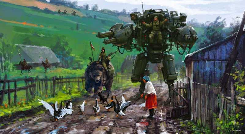 Апокалиптический мир художника Якуба Розальски
