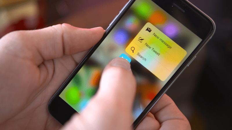 Apple откажется от 3D Touch в будущих iPhone