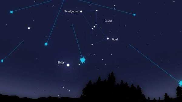 Взрыв звезды Бетельгейзе увидят с Земли