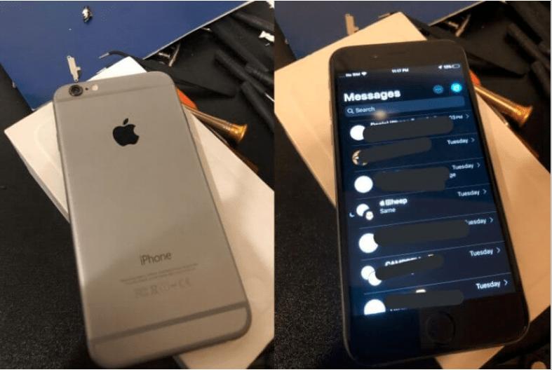 Разработчику NightigerFTW удалось запустить iOS 13 на iPhone 6