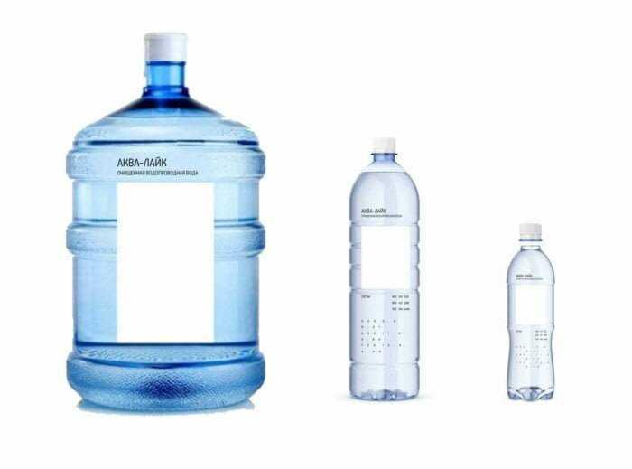 «Студия Артемия Лебедева» разработала логотип производителя воды «Аква-лайк» в виде белого прямоугольника